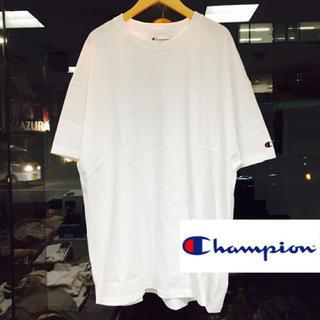 チャンピオン(Champion)のホワイト/2XL Champion チャンピオン ビックTシャツ 半袖 メンズ(Tシャツ/カットソー(半袖/袖なし))