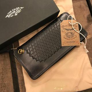 キャリー(CALEE)の【定価約6万円】CALEE キャリー 財布 レザー ウォレット 本革(長財布)