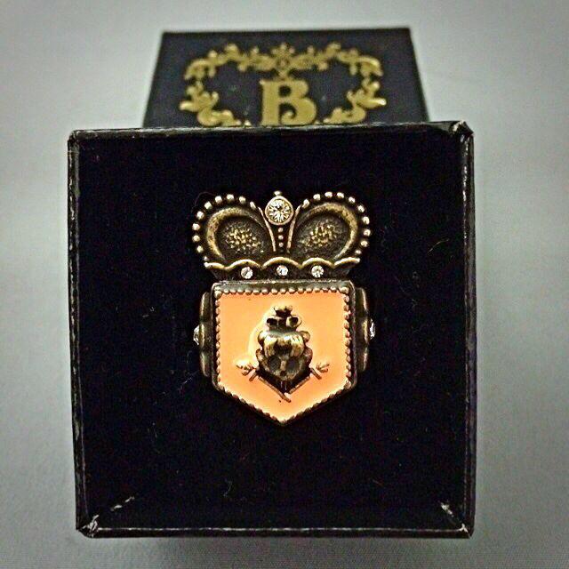 BABY,THE STARS SHINE BRIGHT(ベイビーザスターズシャインブライト)のベイビー×嶽本野ばらコラボリング レディースのアクセサリー(リング(指輪))の商品写真
