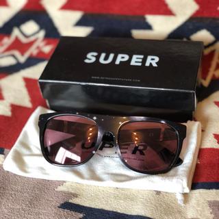 スーパー(SUPER)のSUPER サングラス カニエウエスト 送料無料(サングラス/メガネ)