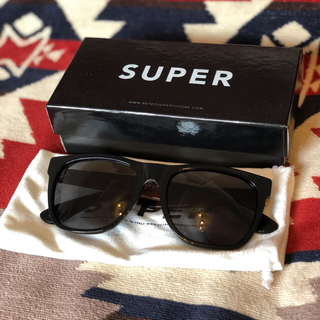 スーパー(SUPER)のSUPER 1番人気モデル サングラス 送料無料(サングラス/メガネ)