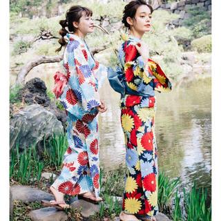 グリモワール(Grimoire)の夢にまで咲く花柄浴衣 レベッカブティック LEBECCA boutique(浴衣)