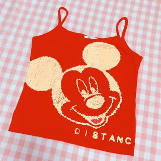 ディズニー(Disney)のミッキー キャミソール(キャミソール)