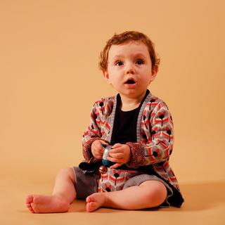 キャラメルベビー&チャイルド(Caramel baby&child )の新品タグ付き wolf&rita カーディガン(カーディガン)