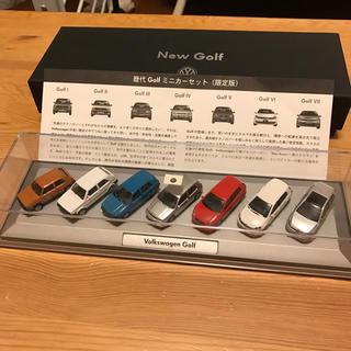 フォルクスワーゲン(Volkswagen)のVW 歴代Golf ミニカーセット 非売品(ミニカー)