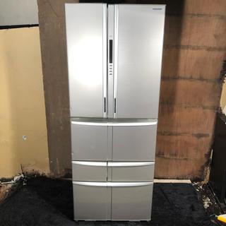 トウシバ(東芝)のTOSHIBA 548L 大容量6ドア冷凍冷蔵庫 2010年製(冷蔵庫)