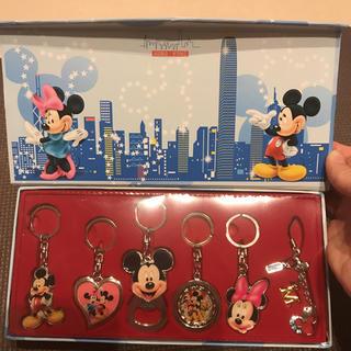 Disney - 香港ディズニーランド キーホルダーセット