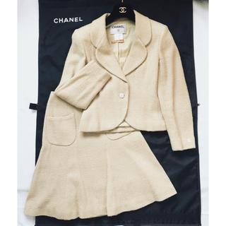 317eda549b01c6 2ページ目 - シャネル ツイードジャケット スーツ(レディース)の通販 72 ...