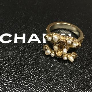 シャネル(CHANEL)のCHANEL  パールリング   指輪   正規品(リング(指輪))