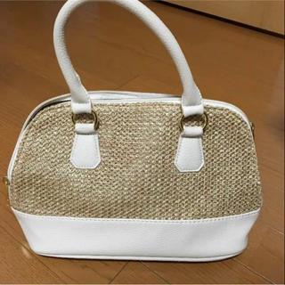 シマムラ(しまむら)の美品 ハンドバッグ ショルダーバッグ 2way カゴバッグ(ショルダーバッグ)