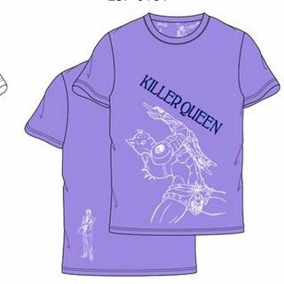 シマムラ(しまむら)のジョジョの奇妙な冒険 Tシャツ(Mサイズ) キラークイーン(Tシャツ/カットソー(半袖/袖なし))