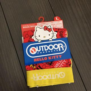 サンリオ(サンリオ)の新品 アウトドア L ⑩ ハローキティ キティ ボクサーパンツ OUTDOOR (ボクサーパンツ)