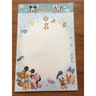 ディズニー(Disney)の命名 ディズニー (命名紙)
