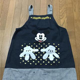 ディズニー(Disney)のキッズ エプロン ミッキー(お食事エプロン)