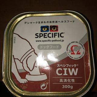 スペシフィック(SPECIFIC)のスペシフィック 食事療法食 犬用 CIW 高消化性(300g)(犬)