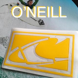 オニール(O'NEILL)のO'NEILLオニールUS限定ニューアイコンデザインダイカットステッカーYel(サーフィン)