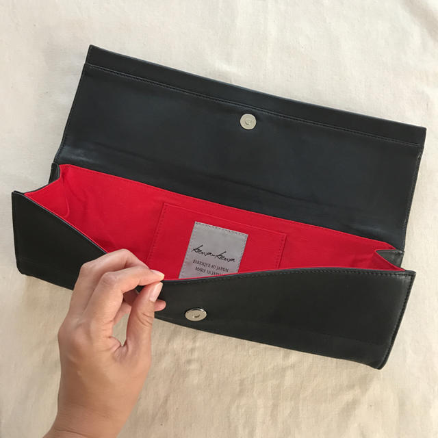 PAPILLONNER(パピヨネ)の●美品● kawa-kawa  クラッチバック レディースのバッグ(クラッチバッグ)の商品写真