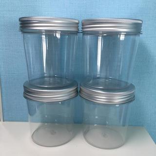 ムジルシリョウヒン(MUJI (無印良品))の無印良品 入浴剤用詰替ジャー 4つセット(日用品/生活雑貨)