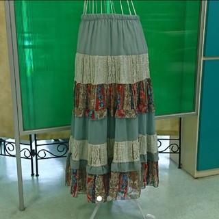 [美品]AnnaNicolaParisアンナニコラ 優しい雰囲気♪スカート