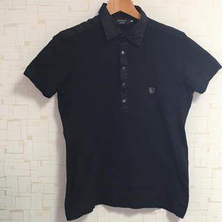 エポカ(EPOCA)のエポカウオモ ポロシャツ ブラック(ポロシャツ)