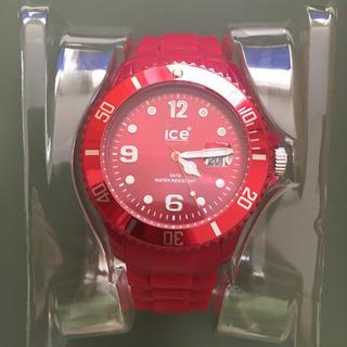 アイスウォッチ(ice watch)の美品!Ice Watch Deep Red(腕時計(アナログ))