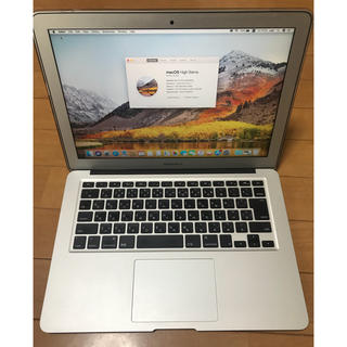 マック(Mac (Apple))のMacBook Air 13inch mid 2012 CTO 美品(ノートPC)