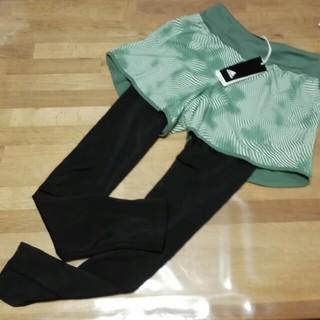 アディダス(adidas)の ⑭adidas ショートパンツ リバーシブル レディース  (ヨガ)
