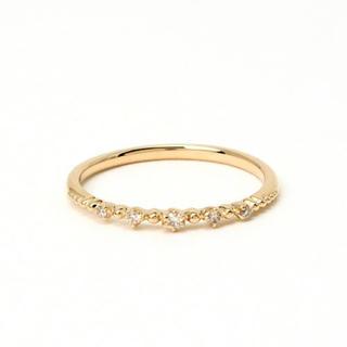 ノジェス(NOJESS)の最終値下げ❗️ノジェス  K10 ダイヤモンド ピンキーリング 5号(リング(指輪))
