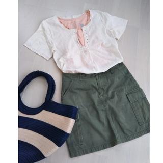 MUJI (無印良品) - ジャニスマーケット ブラウス 無印良品 スカート アズノゥアズ タンクトップ