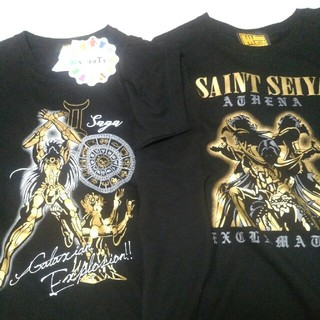 シマムラ(しまむら)の聖闘士星矢Tシャツ 2枚セット(Tシャツ/カットソー(半袖/袖なし))