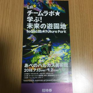kotom様専用☆あべのハルカス チームラボ 1枚(遊園地/テーマパーク)