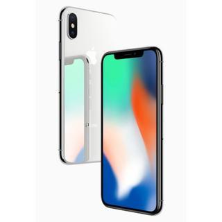 新品 iphoneX 64GB シルバーのみ4台セット(スマートフォン本体)