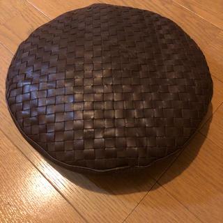 ボッテガヴェネタ(Bottega Veneta)のボッテガヴェネタ レザーベレー帽(ハンチング/ベレー帽)