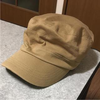 カーキのキャスケット帽子(キャスケット)