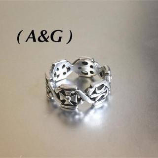 エーアンドジー(A&G)のA&Gエーアンドジー925シルバーリング(リング(指輪))