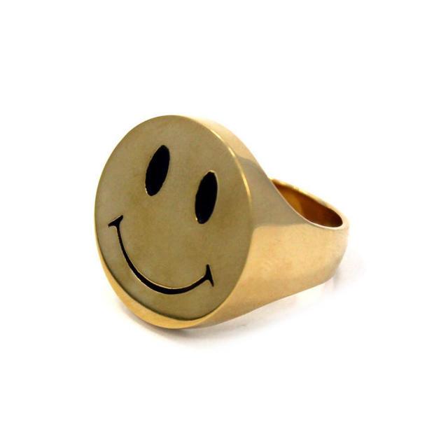 【MK様専用】HanCholo スマイルUS10&クライUS11 リングSET メンズのアクセサリー(リング(指輪))の商品写真