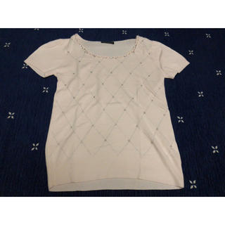 デュークボイド(DUKE BOYD)のニットTシャツ(Tシャツ(半袖/袖なし))