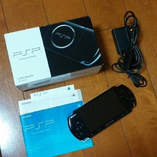 PlayStation Portable - PSP-3000本体 ピアノブラック