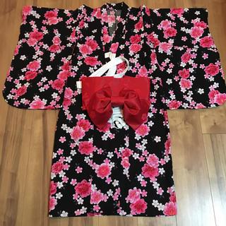 シマムラ(しまむら)の浴衣 女児 130サイズ(甚平/浴衣)