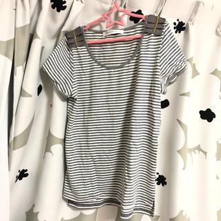 セレーヌデプト(SERENE Dept.)のボーダー Tシャツ(Tシャツ(半袖/袖なし))
