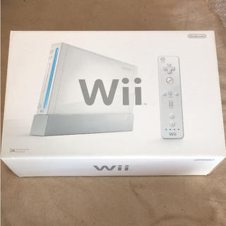 Wii - 美品★Wii シロ 本体 箱付き 動作確認済み