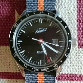 ツェッペリン(ZEPPELIN)の[貴重] ツェッペリンGMT腕時計(腕時計(アナログ))