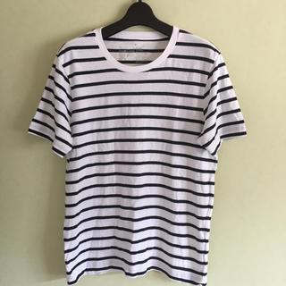 ムジルシリョウヒン(MUJI (無印良品))の# 無印良品  ボーダー Tシャツ(Tシャツ/カットソー(半袖/袖なし))