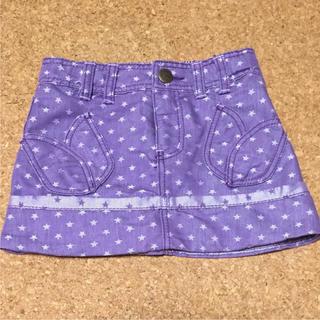 アナスイミニ(ANNA SUI mini)の値下げ 美品 アナスイミニ 星柄スカート ANNA SUI(スカート)