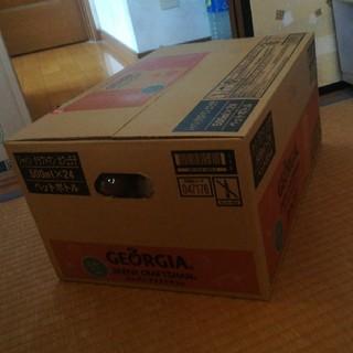 コカコーラ(コカ・コーラ)のジョージアジャパンクラフトマンカフェラテ500ml ×24ペットボトル(コーヒー)
