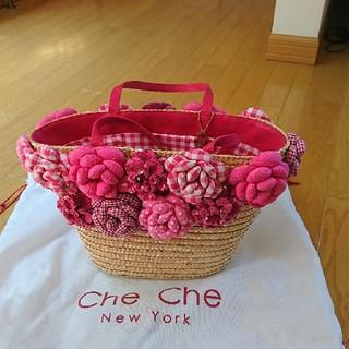 チチニューヨーク(Che Che New York)のチチニューヨークのかごバッグ(かごバッグ/ストローバッグ)
