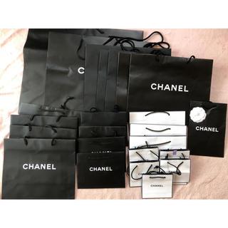 シャネル(CHANEL)のセット売りブランド紙袋〜レア袋★BOX3(ショップ袋)