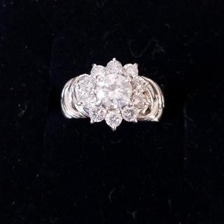 プラチナ ダイヤ リング(リング(指輪))