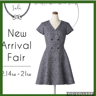FOXEY NEWYORK コレクション ジャガードドレス2017年77760円