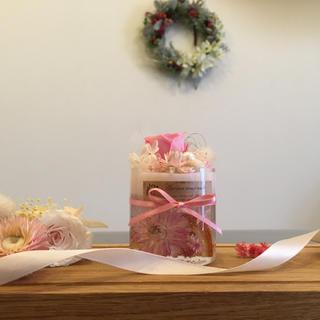 アロマワックスケーキ rose pink(アロマ/キャンドル)